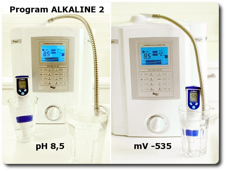 Pomiary wody na programie ALKALINE 2 miernikiem pH i mV
