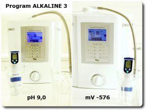 Pomiary wody na programie ALKALINE 3 miernikiem pH i mV