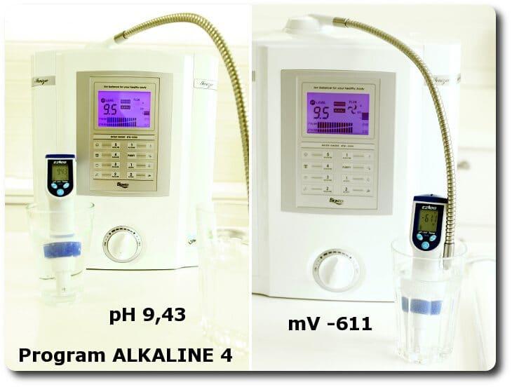 Pomiary wody na programie ALKALINE 4 miernikiem pH i mV