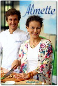Wspólne gotowanie z Davidem Gaboriaud i serkiem Almette