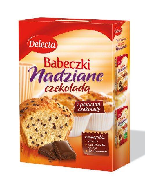 Delecta Babeczki nadziane czekoladą