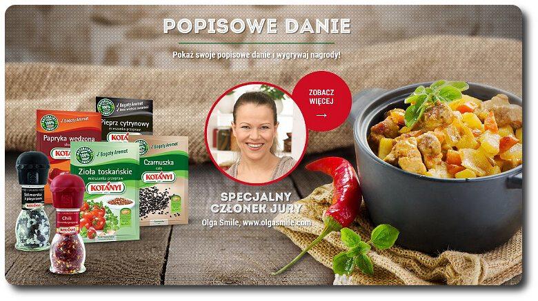 Konkurs Kotanyi Olga Smile