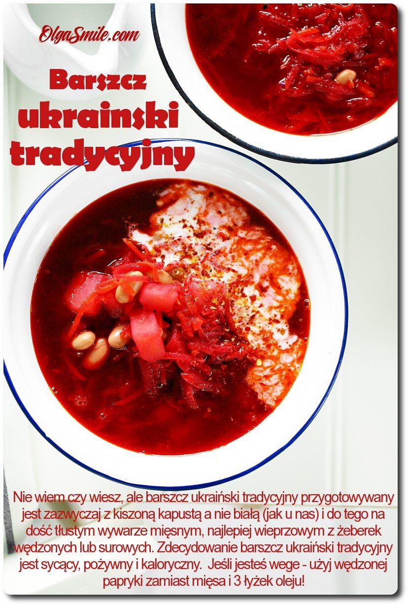 Barszcz ukraiński tradycyjny