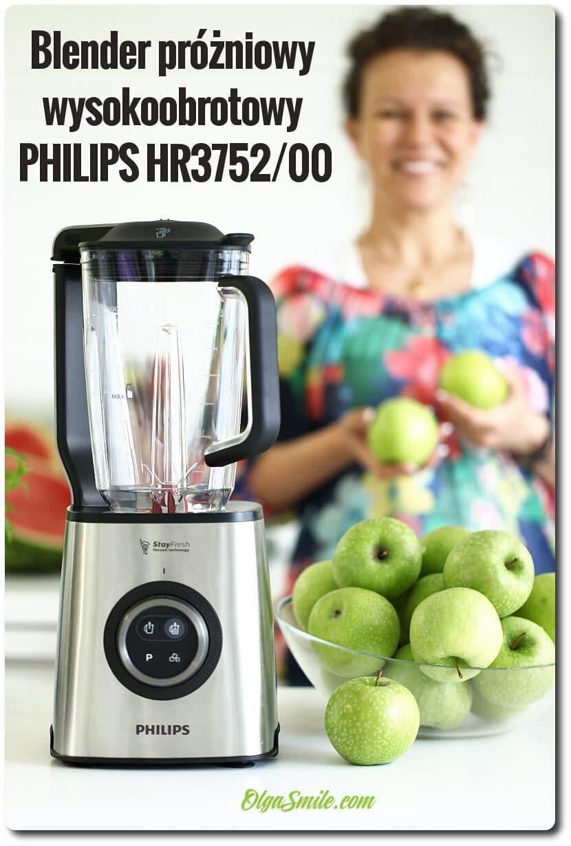 Blender próżniowy wysokoobrotowy PHILIPS HR375200 przepis