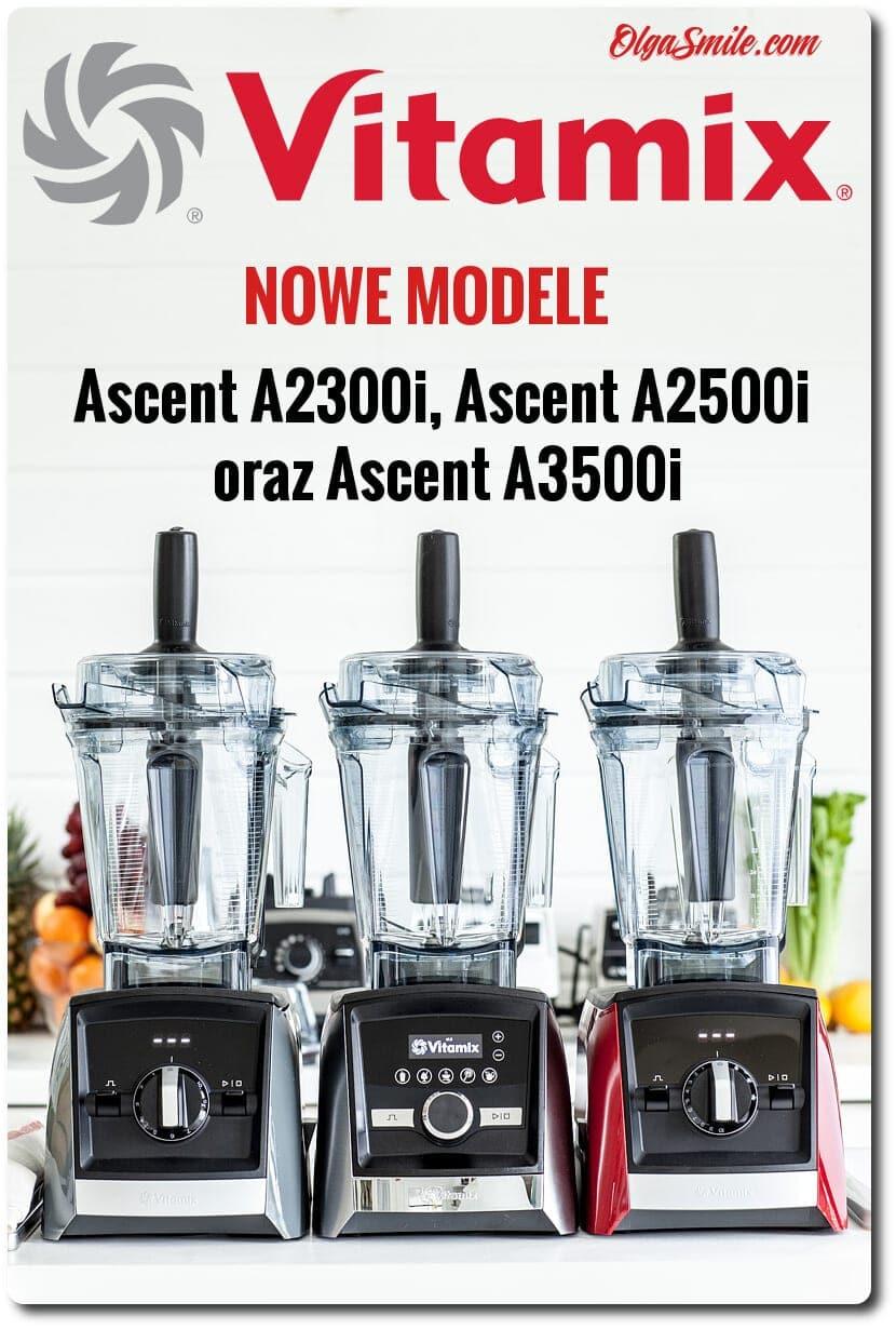 Blendery VITAMIX Ascent A2300i, A2500i i A3500i