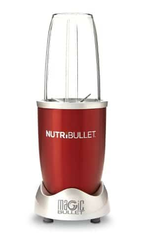 blender NutriBullet Red 600 W, 5 elementów