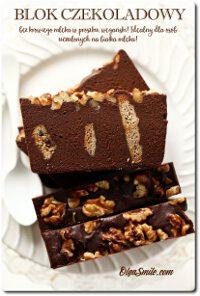 Blok czekoladowy bez mleka wegański