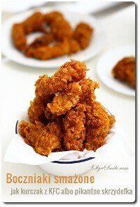 Boczniaki smażone jak kurczak z KFC