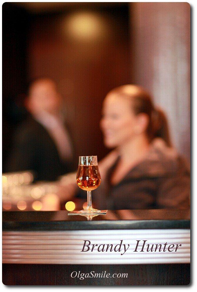Brandy Hunter drink z brandy