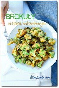 Brokuły w cieście