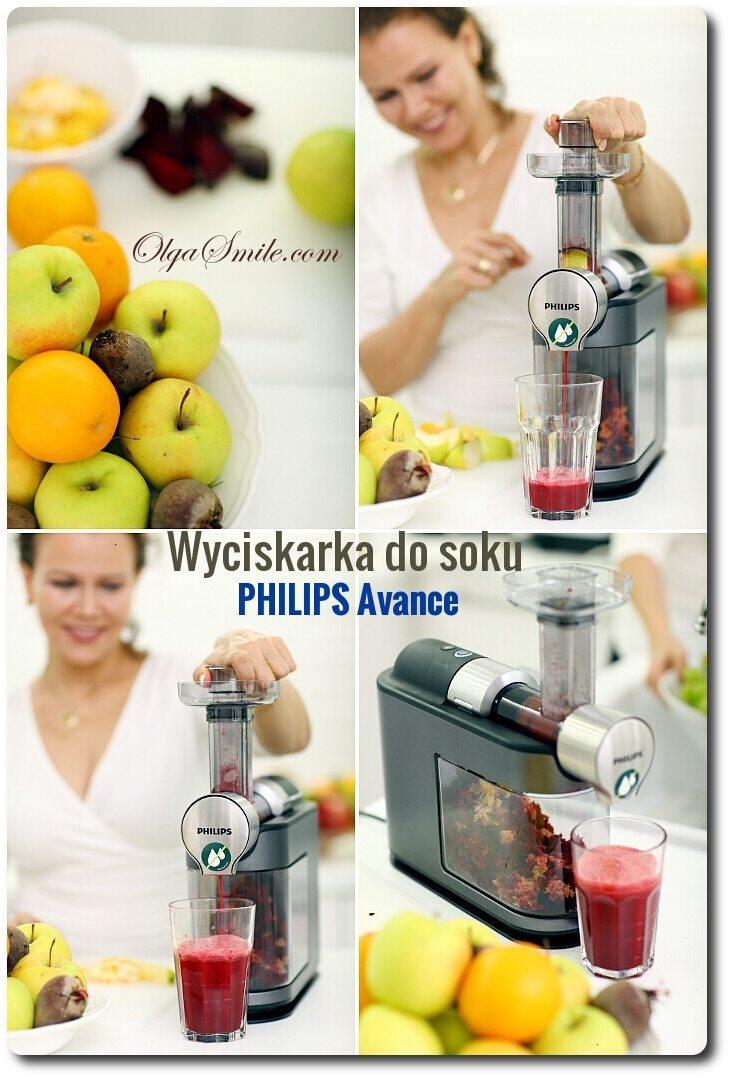 Wyciskarka wolnoobrotowa Philips Avance