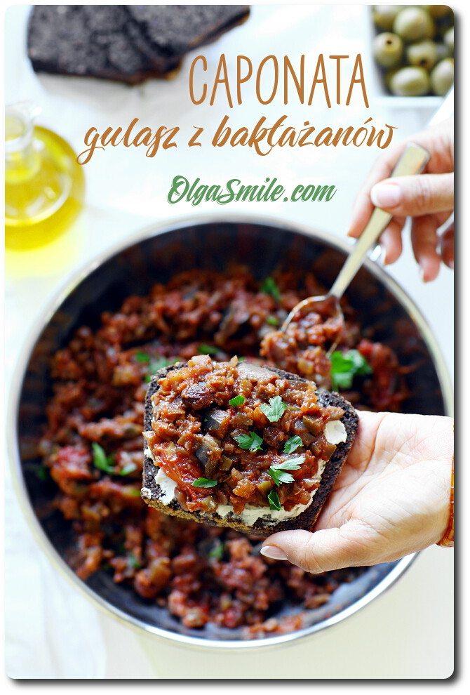 Gulasz z bakłażana caponata