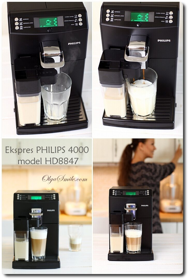 Ekspres PHILIPS 4000 model HD8847