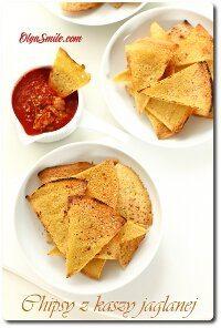 Chipsy z kaszy jaglanej