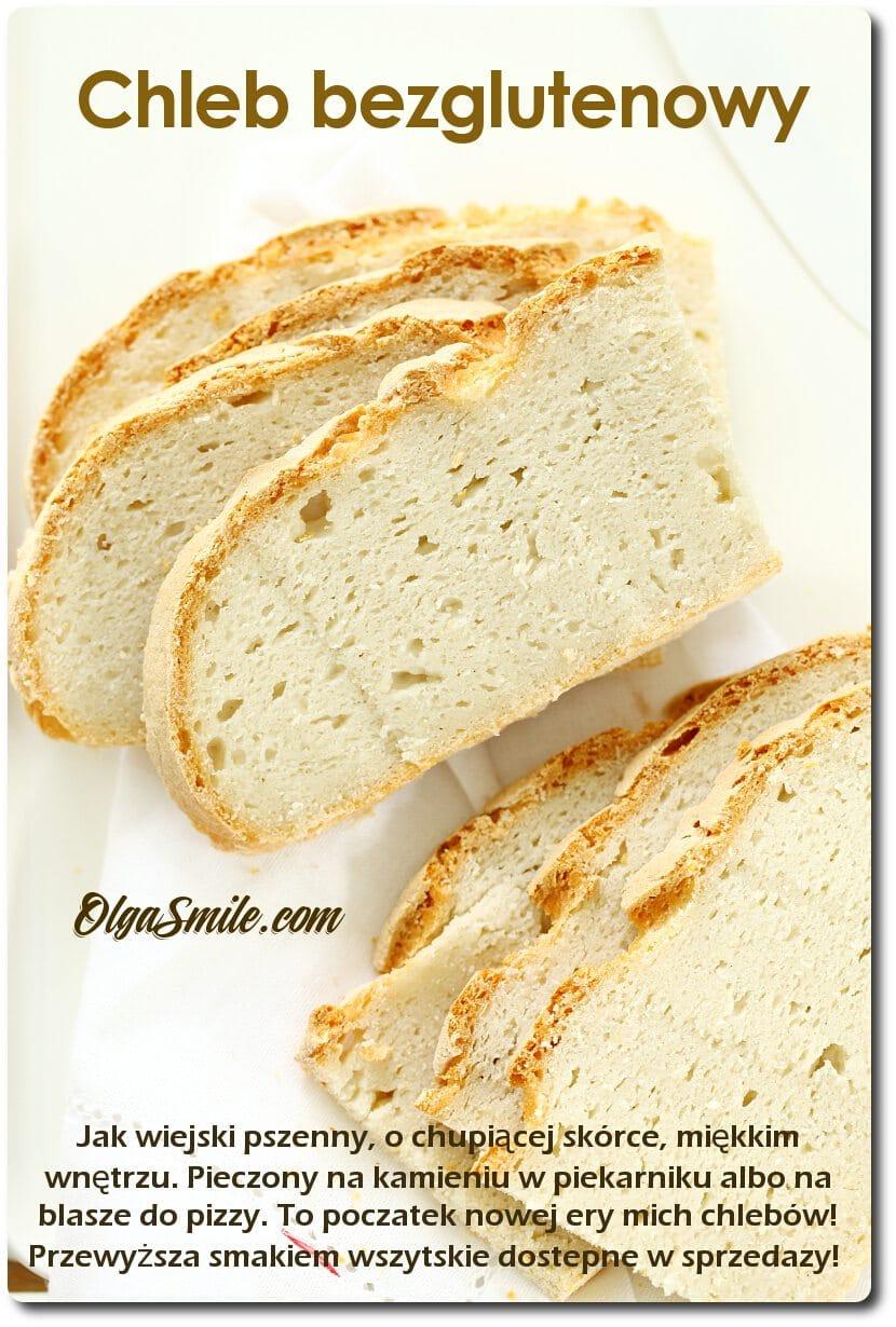 Chleb biały bezglutenowy