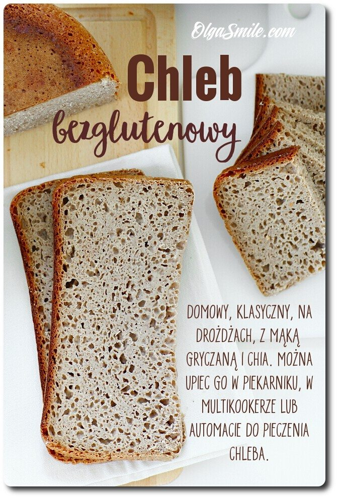 Chleb bezglutenowy przepis