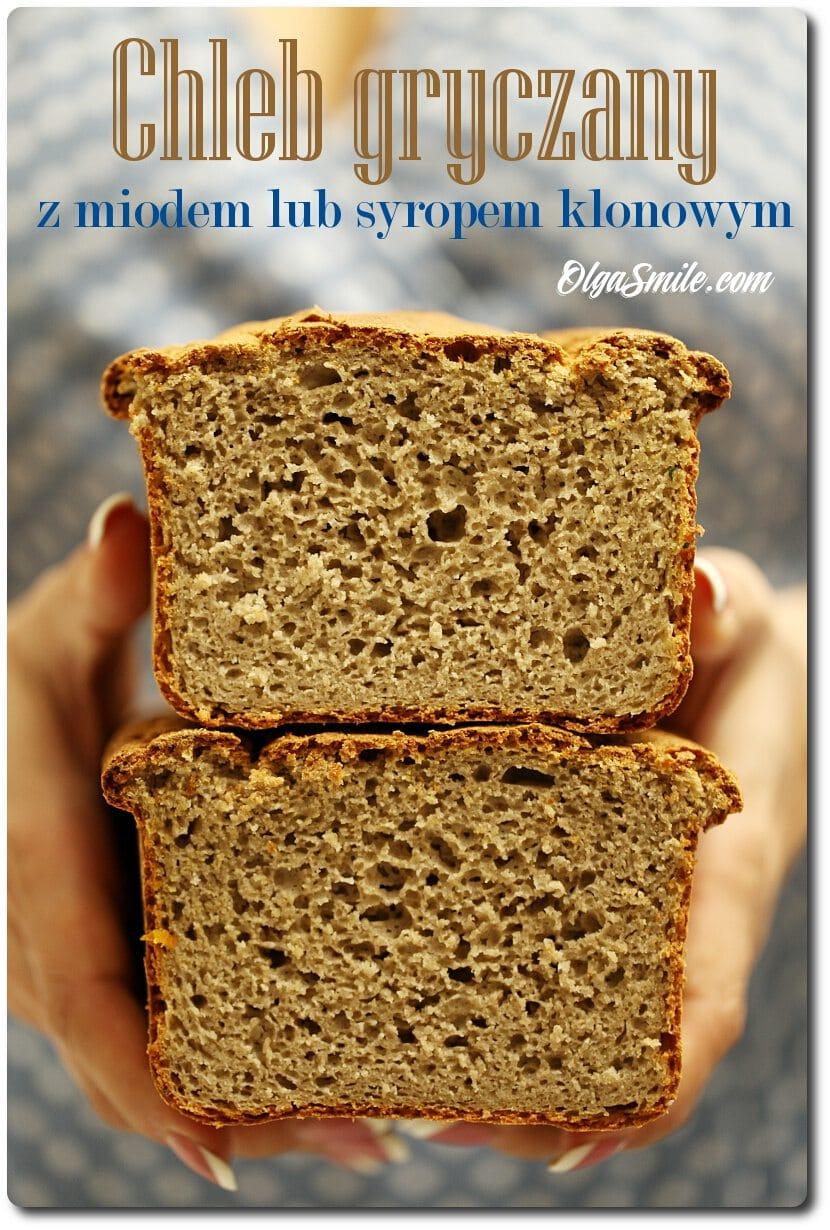 Chleb gryczany z miodem