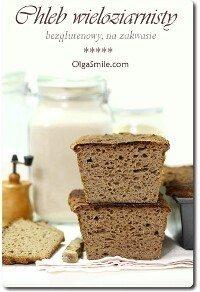 Chleb bezglutenowy wieloziarnisty na zakwasie