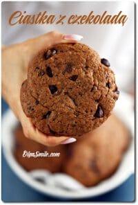 Ciastka z czekoladą