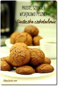 Łatwe ciasteczka czekoladowe