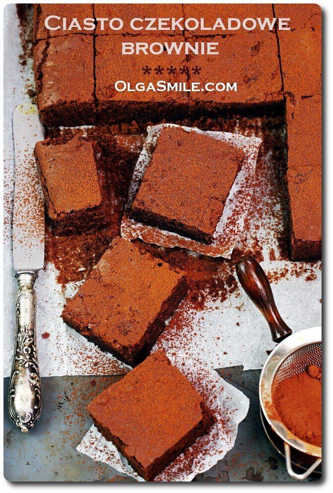 Ciasto czekoladowe brownie