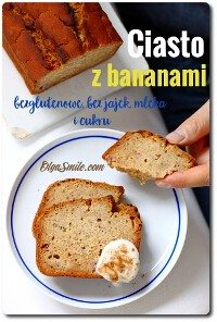 Ciasto z bananami bezglutenowe
