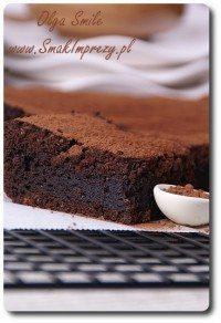 Ciasto czekoladowe z masłem orzechowym