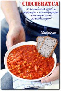 Ciecierzyca w pomidorach