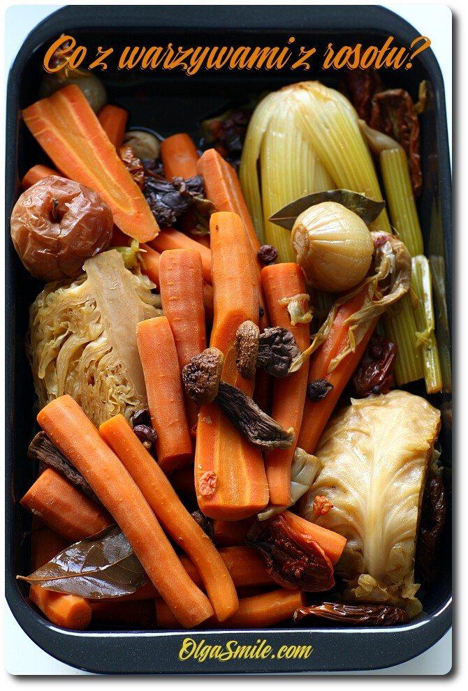Co z warzywami z rosołu
