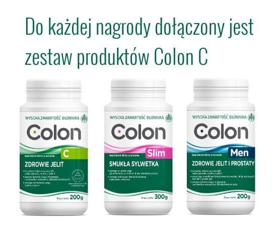 zestaw produktów Colon C