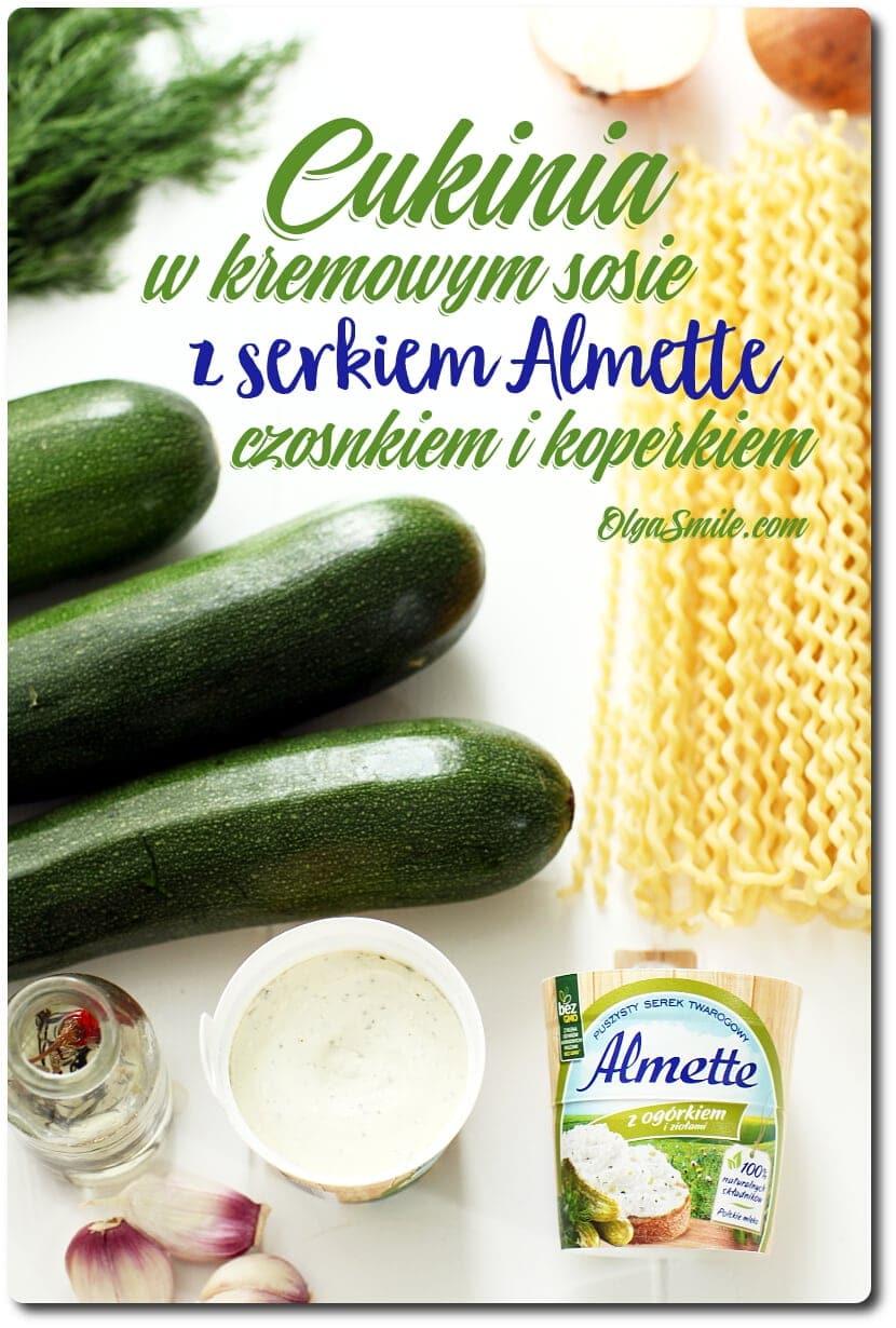 Smaki sezonu Almette z ogórkiem i ziołami Olga Smile