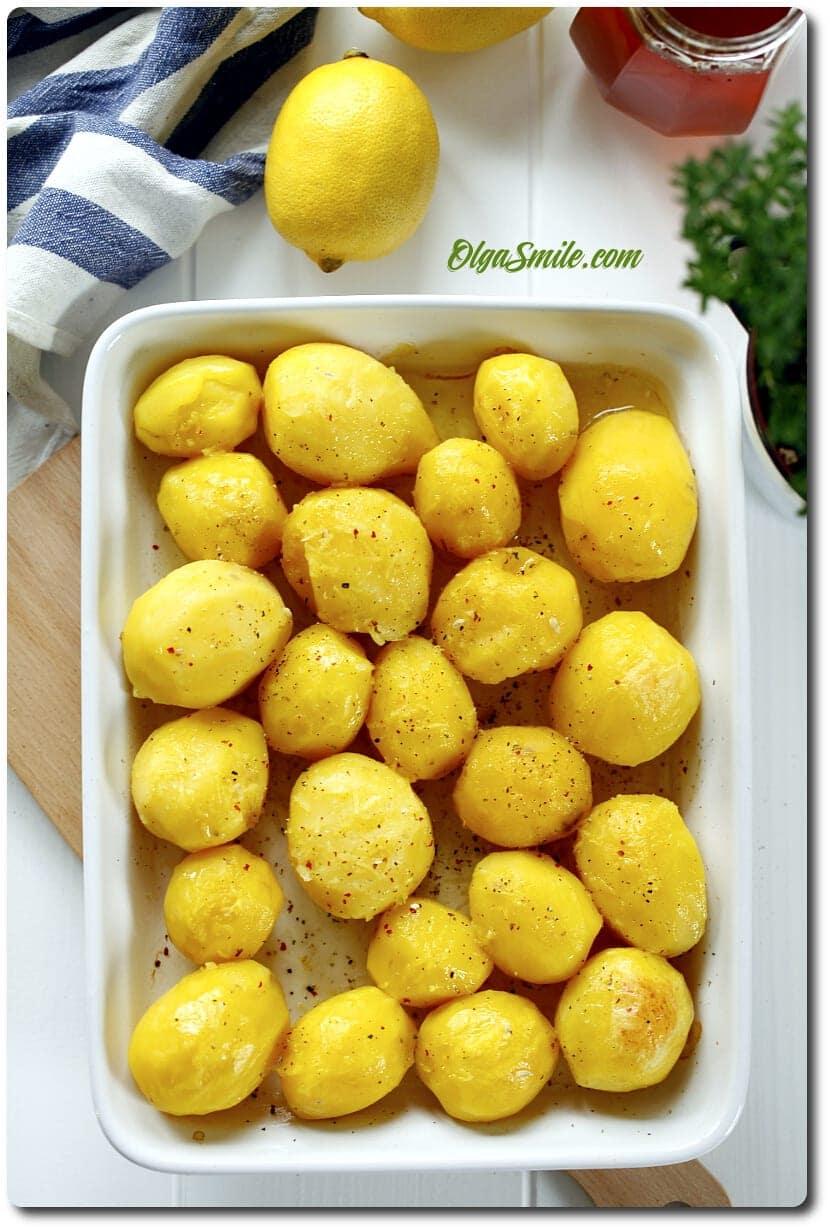 Cytrynowe ziemniaki