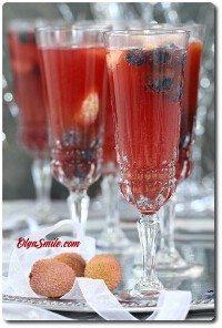 Drink z szampanem