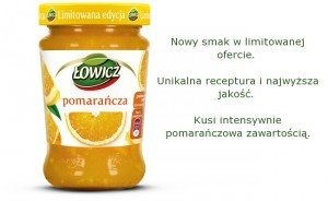 dżem Łowicz Pomarancza