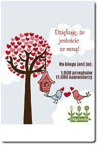 Dziękuję Olga Smile
