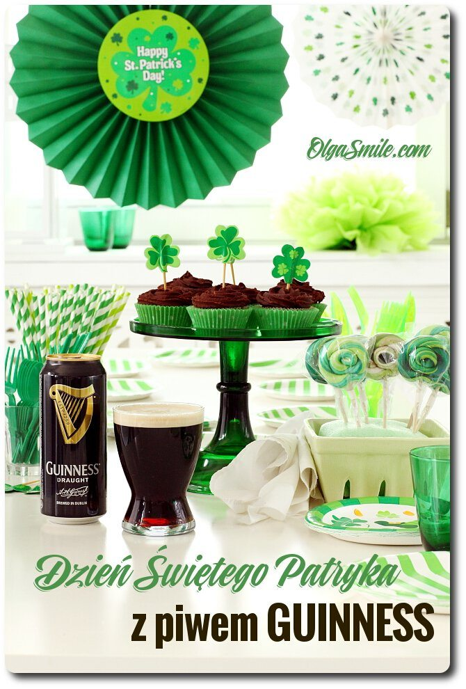 Dzień Świętego Patryka z piwem Guinness