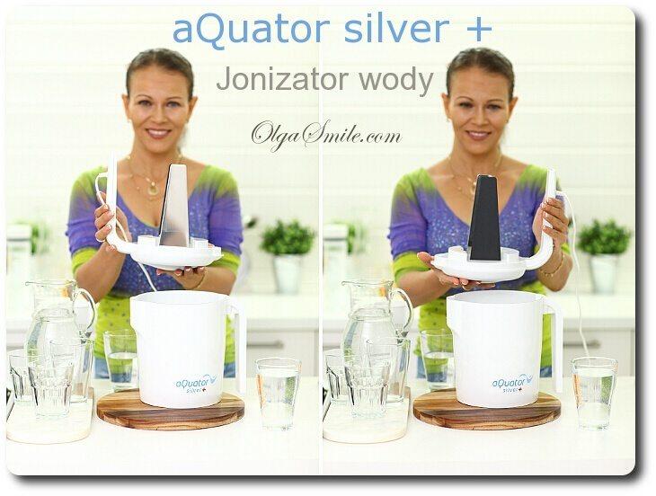 Świeże Jonizator wody aQuator Silver + przepis Olga Smile VK52