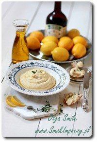 Fava hummus z grochu