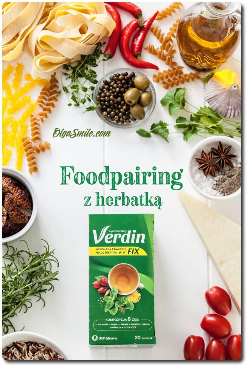 Herbatka Verdin fix kompozycja 6 ziół - foodpairing