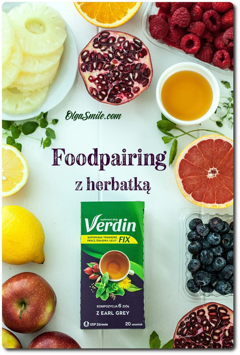 Herbatka Verdin fix z Earl Grey Foodpairing