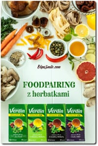 Herbatki Verdin Fix foodpairing