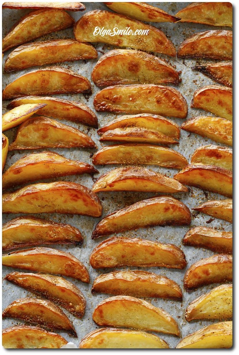 Frytki - ziemniaczki stekowe