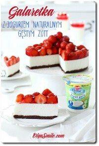 Galaretka z jogurtem naturalnym gęstym Zott