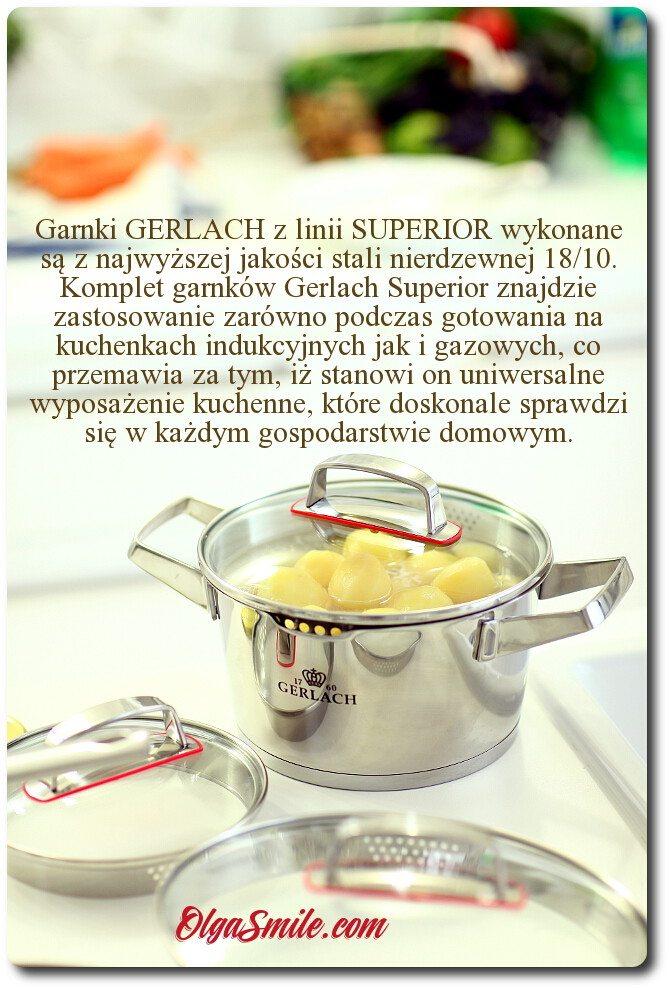 Garnki GERLACH linia SUPERIOR