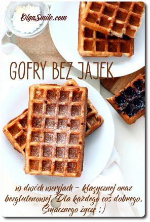 Gofry bez jajek