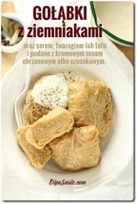Gołąbki z ziemniakami
