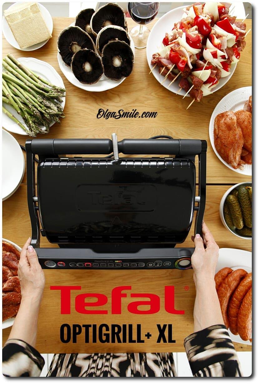 Grill elektryczny Tefal OPTIGRILL+ XL