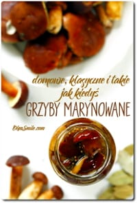 GRZYBY MARYNOWANE