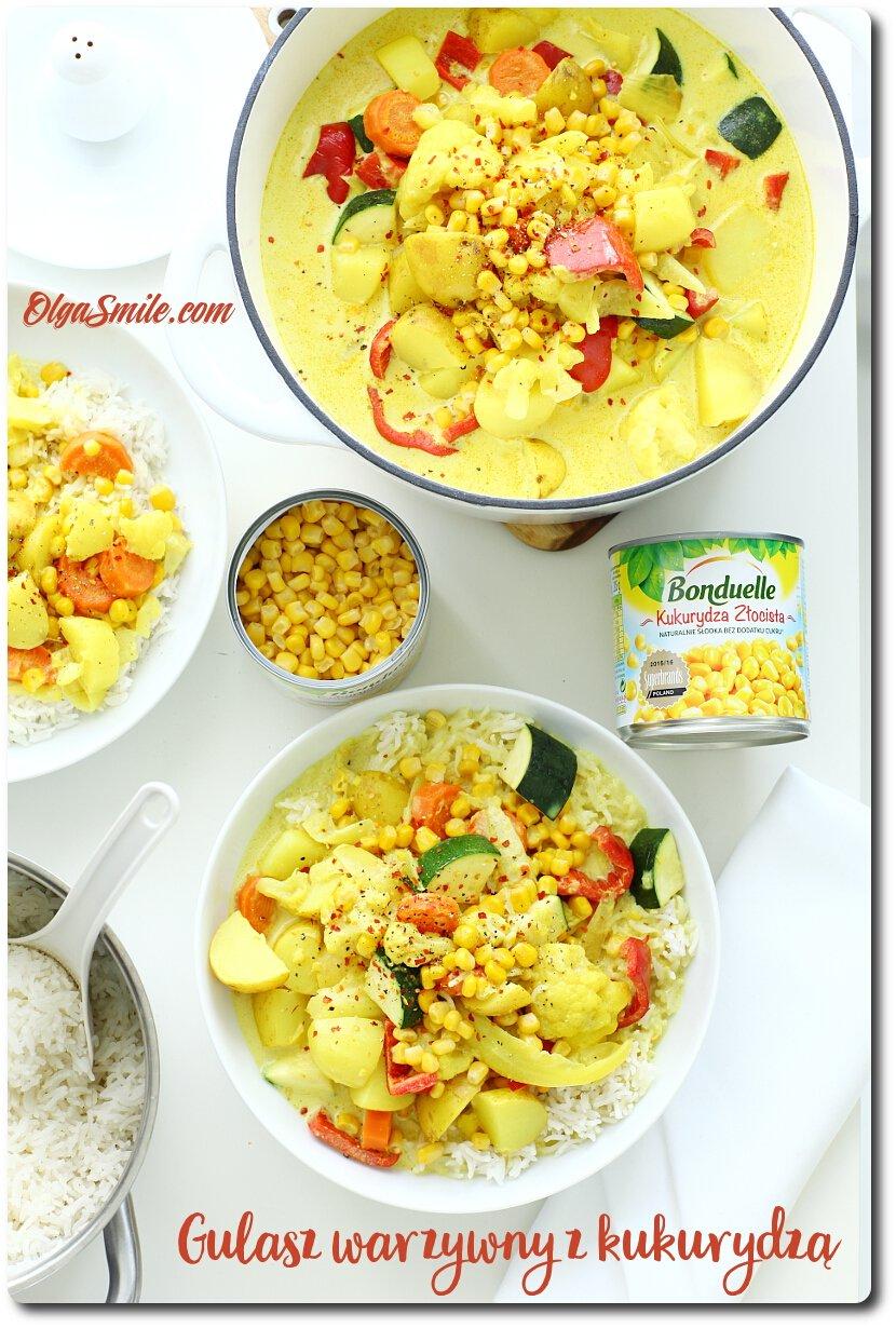 Gulasz warzywny z kukurydzą Bonduelle