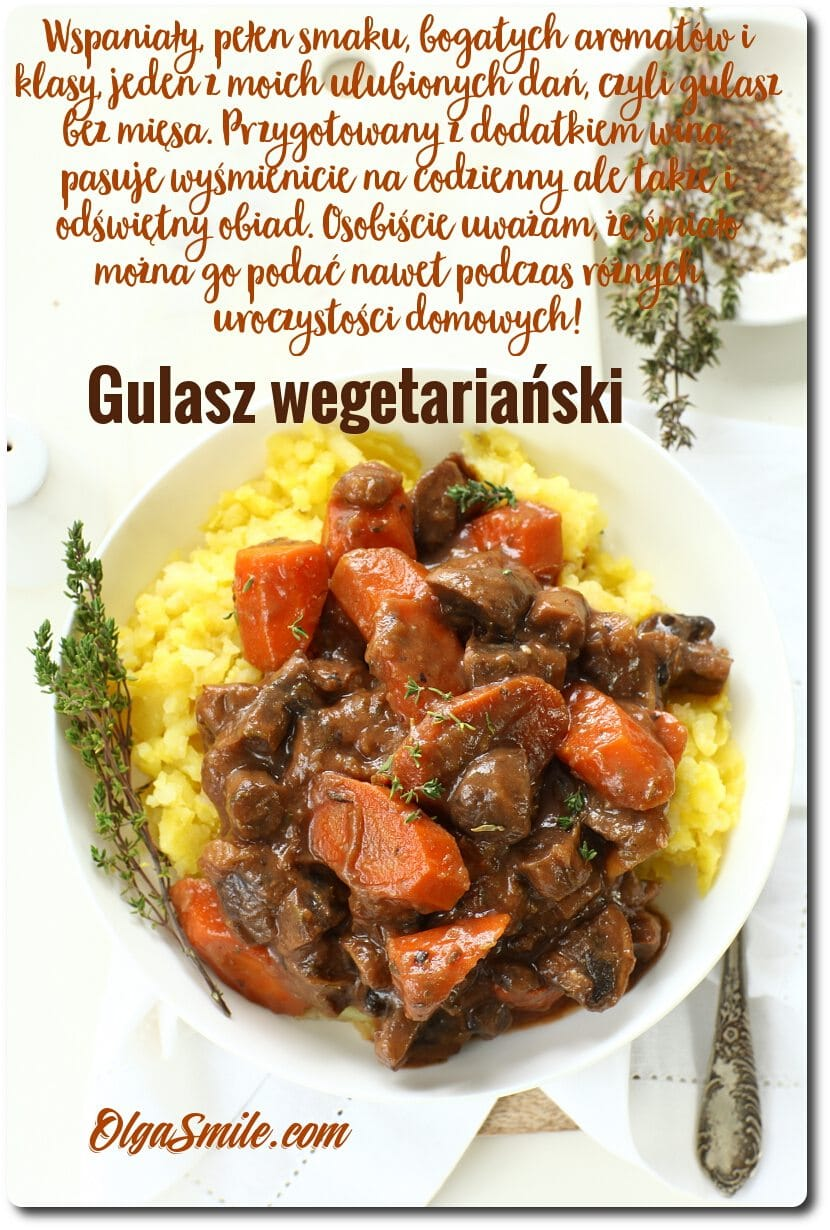 Gulasz wegetariański